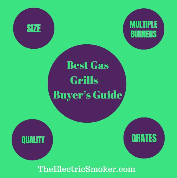 Best Gas Grills Infographic