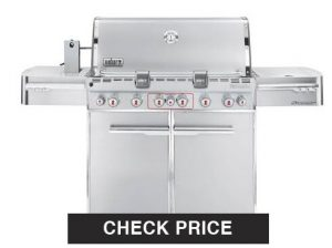 Weber Summit S-670 LP Gas Grill